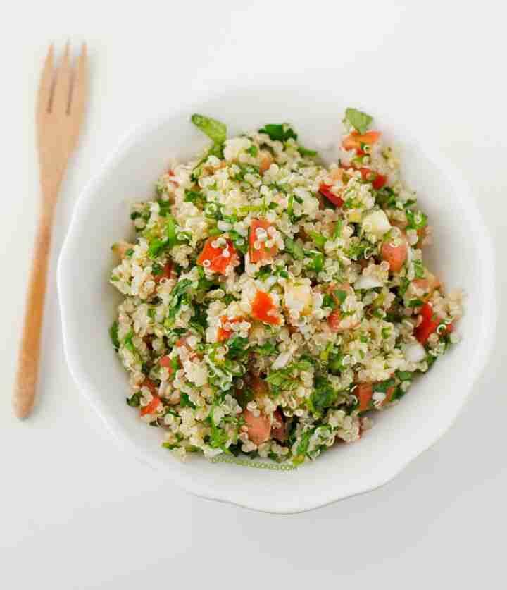 mezcla de quinoa