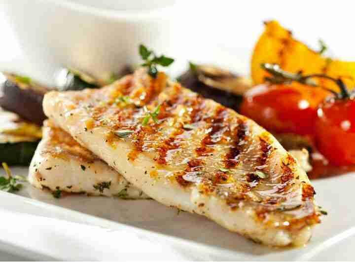 pescado al grill